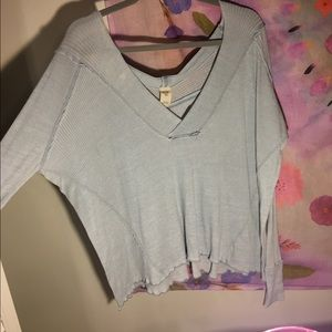 WE THE FREE ~  light blue surfin top ★ ★